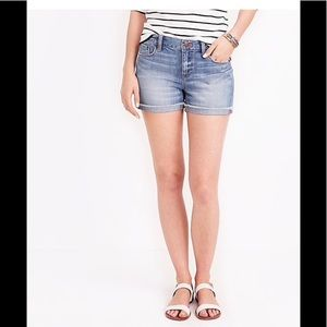 J. Crew Factory Denim Short Liza Wash 28